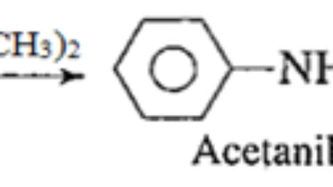 Synthesis of acetanilide from aniline