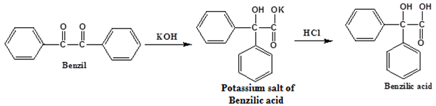 benzilic acid synthesis