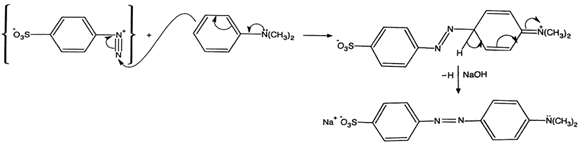 diazotization of sulfanilic acid mechanism